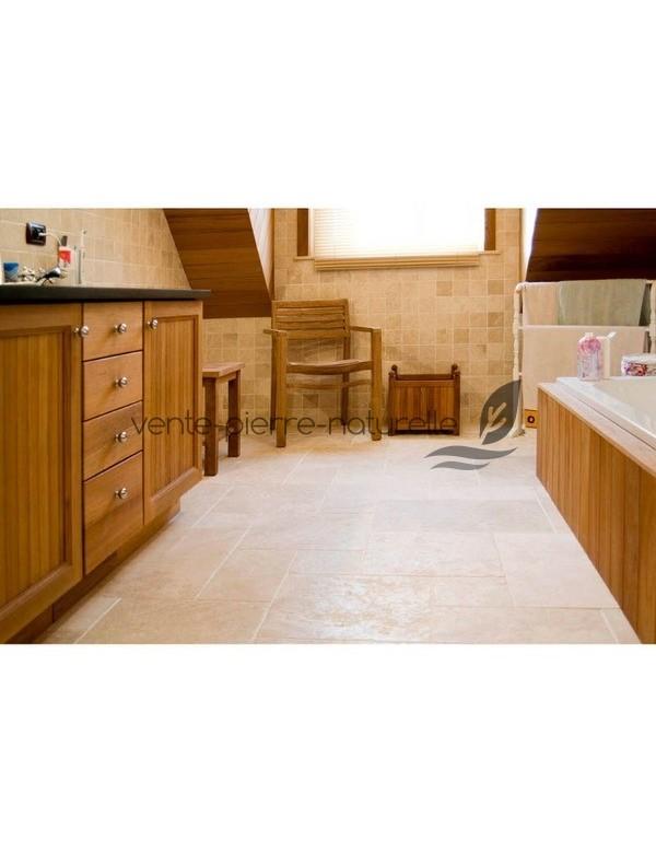 carrelage en pierre de travertin adouci vente pierre. Black Bedroom Furniture Sets. Home Design Ideas