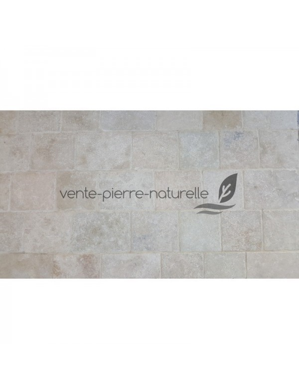 Pavé travertin beige mix