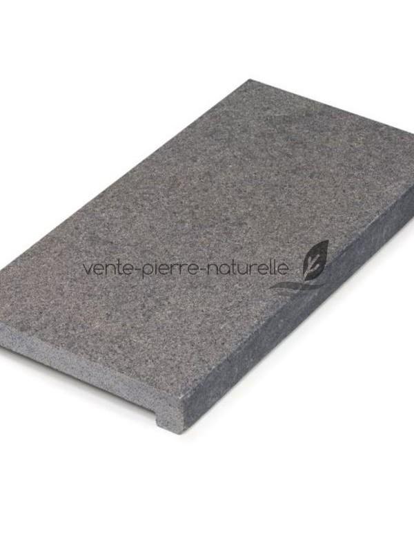 margelle de piscine en pierre naturelle granit gris. Black Bedroom Furniture Sets. Home Design Ideas
