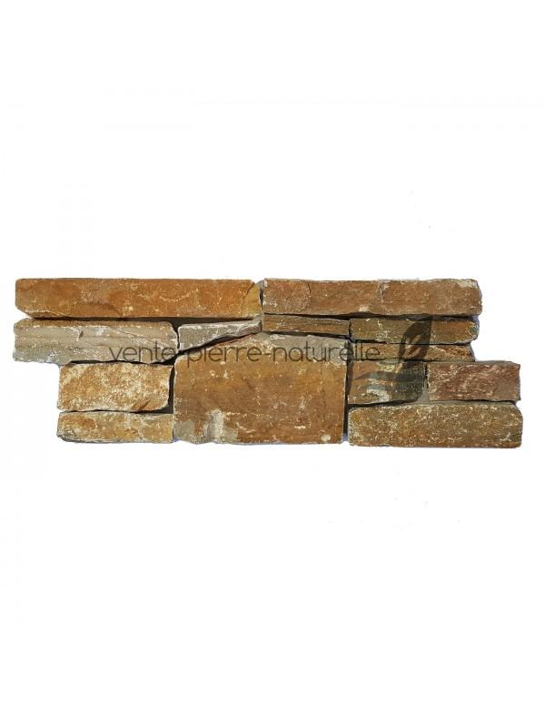parement panel calcaire feuille d'automne