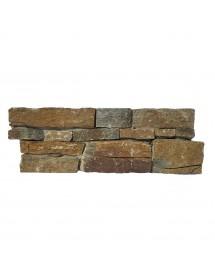 parement panel sur filet rust quartz