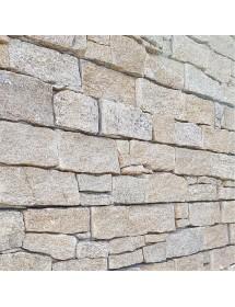 pierre de parement - mur en pierre - placage granit