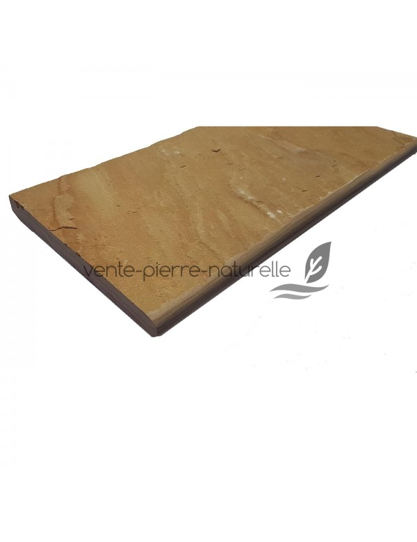 margelle kandla de piscine - escalier -pierre d 'inde