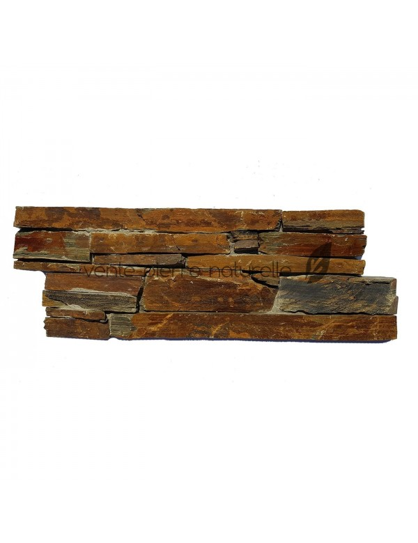 parement schiste - rusty slate - stonepanel cpz