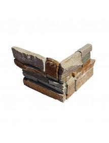 angle oyster - rockpanel  - angle placage