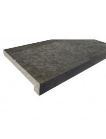 Margelle granit noir avec talon