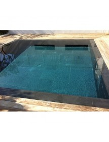 Pav kandla gr s d 39 inde ocre - Margelle noire pour piscine ...