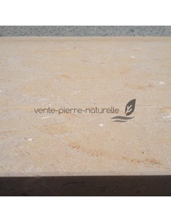 Dallage en c nia beige flamm pierre naturelle - Dallage exterieur en pierre naturelle ...