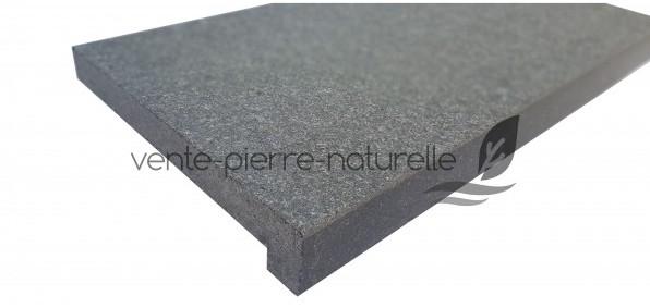 margelle de piscine en granit new black