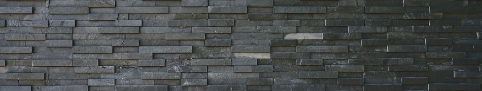 mur et sol en ardoise naturelle