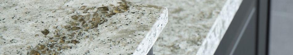 parements en quartz et autres pierres naturelles