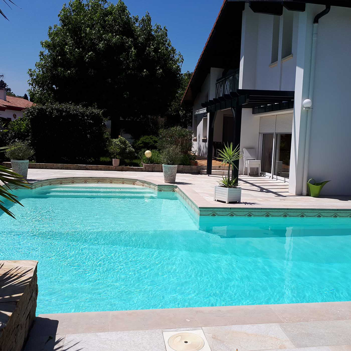dallage piscine cenia beige pierre naturelle