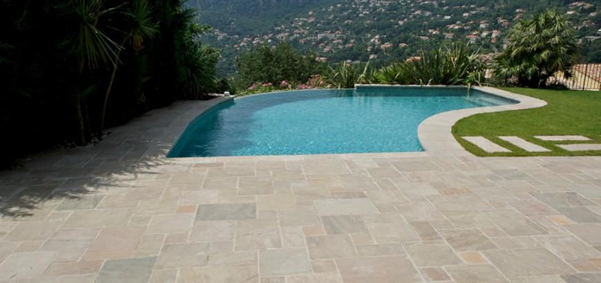Dallage exterieur piscine